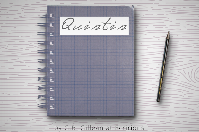 Journal Story - Quintin by G.B. Gillean