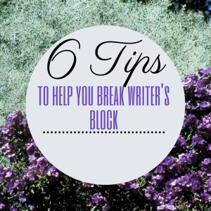6 Tips Writers Block